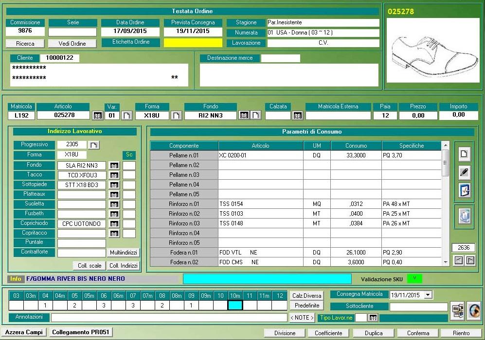 Software programmazione produzione scarpe for Software di layout di costruzione gratuito