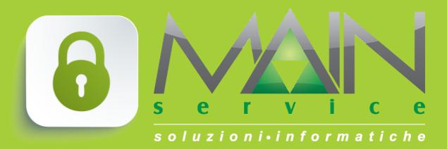 Area Riservata : attiva la pagina dei clienti Main Service