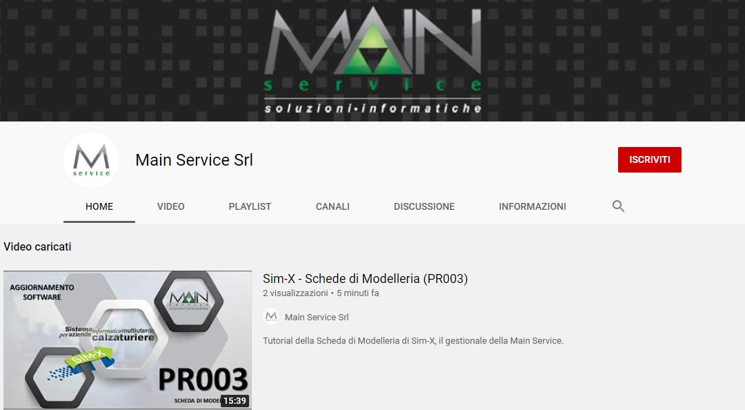 YouTube: la Main Service apre il proprio canale video!